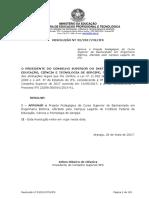 PPC Engenharia Elétrica IFS-Se