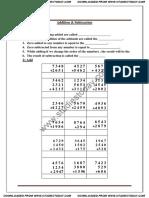 CBSE Class 3 Mathematics - Addition & Subtraction (1)