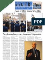 The Oredigger Issue 10 - November 15, 2010