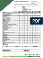 Anexo 31 Inspeccion Preoperaccional de Vehiculos Modif