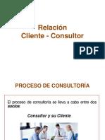Relación Cliente - Consultor