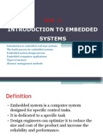 Embedded Systems - CS 2364