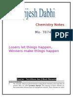D-block and F-block Elements