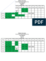 EE-Class Time Table Fall 2019 - Display