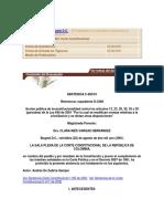 Sentencia C-893 de 2001