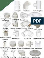 Plumbing fixture compilation