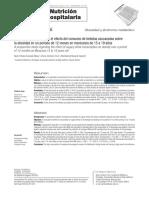Estudio prospectivo sobre el efecto del consumo de bebidas azucaradas sobre  la obesidad en un periodo de 12 meses en mexicanos de 15 a 19 años