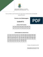 Gabarito Nível Médio Edital 83