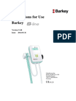 Barkey S-line User Service Manual