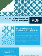 3. Descripcion Conjunta de Varias Variables