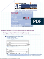 Circuit Boards With Orcad Layout