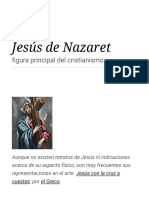 Jesús de Nazaret Religion