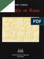 La religión en Roma - Scheid.pdf