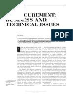 E-procurement ISM 2001