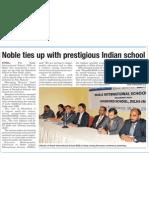 Noble International School the Peninsula Nov7 2010