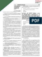 Declaran de interés público local el reordenamiento territorial en la Urbanización Fiori