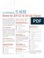 Icd 10 Cm Code Changes White Paper