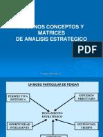 4. Conceptosy Matrices de Análisis Estrategico