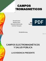 Campos electromagneticos y salud publica