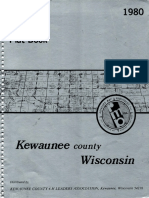 Land Atlas and Plat Book Kewaunee County Wisconsin 1980