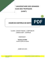 Cours de Contrôle de Gestion - Iuget-lipro-cf-Audit 2018-19