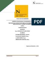 Informe Metrados Construcciones II