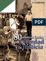 80 Años de Lucha Por La Verdad y La Justicia - La Prensa - Parte 1 de 9