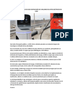 La Estrategia Para Que en 2025 Existan Más de 5 Millones de Autos Eléctricos en Chile