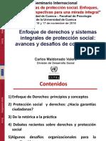 Presentación Dr. Carlos Maldonado CEPAL