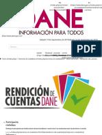 CUENTAS DANE 2019