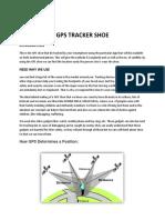 gps track shoe
