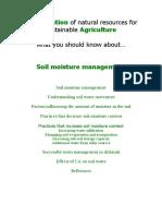 Soil Moisture Pdf