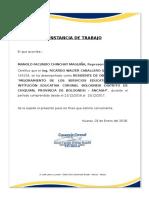 INSTALACION Y CABLEADO DE COND. TWH - 4 mm2