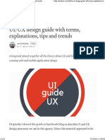 2018 UiUX Recomendations