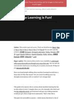 Machine Learning is Fun.pdf