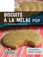 Biscuits Mélasse - 20 Recettes