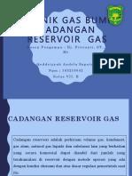 Cadangan Reservoir gas