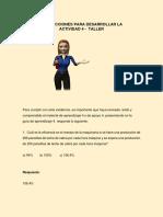 Instrucciones Actividad 4 - Taller