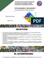 Exposicion Ambiente Geoquimico Secundario