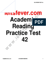 Ieltsfever Academic Reading Practice Test 42 PDF