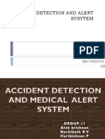 Accident Detection and Alert System