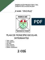 Plan de Municipio Escolar