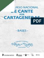bases del concurso de cartageneras