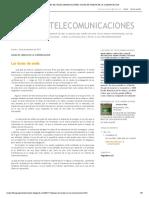 Redes de Telecomunicaciones_ Guias de Ondas en La Comunicacion