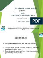II Hazardous Waste Management - HWM 2019.ppt