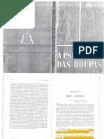 FLÜGEL, J. C. a Psicologia Das Roupas (Fragmento)