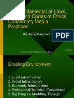 Media Laws & Ethics Presentation