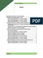 Modificaciones de Reglamento Nacional de Edificaciones