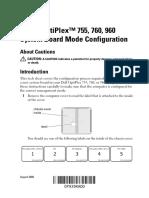 Optiplex-960 User's Guide Es-mx