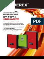 Infinisolar 3kw-V 5kw-10kw Dm